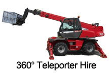360 degree Teleporter Hire